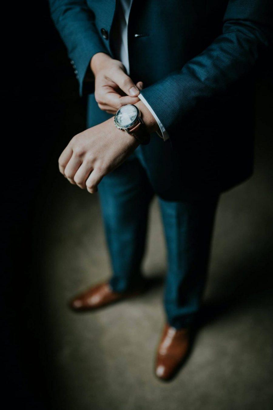 Être un homme d'affaires